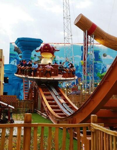 Dünyanın ilk Angry Birds temalı eğlence parkı açıldı