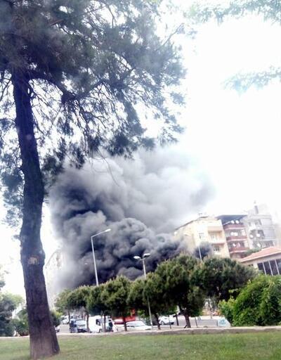 Son dakika: İzmir'de korkutan yangın