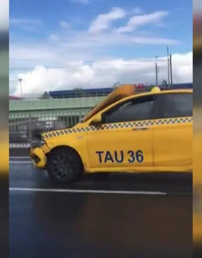 Sürücü yakalandı, 1453 TL ceza kesildi