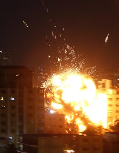 İsrail ordusundan Anadolu Ajansı'nın Gazze'deki ofisine saldırı