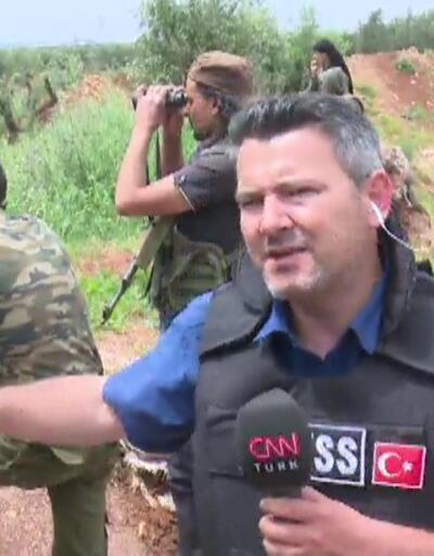 CNN TÜRK ekibi yoğun çatışmaların yaşandığı bölgede