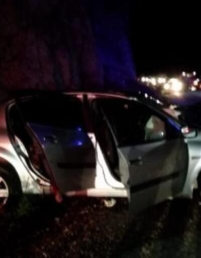 Bigadiç'te otomobiller çarpıştı: 1 ölü, 5 yaralı
