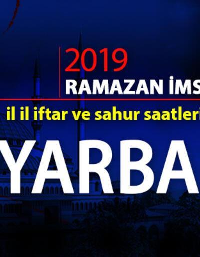 Diyarbakır imsak ve iftar (oruç açma) saatleri – 2019 Ramazan iftar saatleri