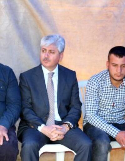 Vali Doğan şehit Ercan Can'ın ailesini ziyaret etti