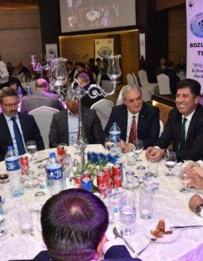 Başkan Bakkalcıoğlu, TSO'nun iftar yemeğine katıldı