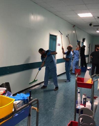 Profesörün odasını yakan hasta yakını tutuklandı