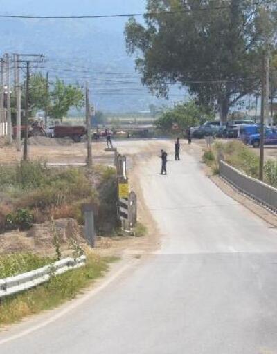 Büyük Menderes Nehri kenarında bulunan el bombası korkuttu