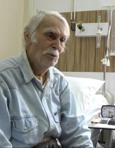 Eşref Kolçak hastaneye kaldırıldı