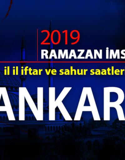 Ankara iftar saati 2019 Ramazan imsakiyesi: Ankara ezan saatleri