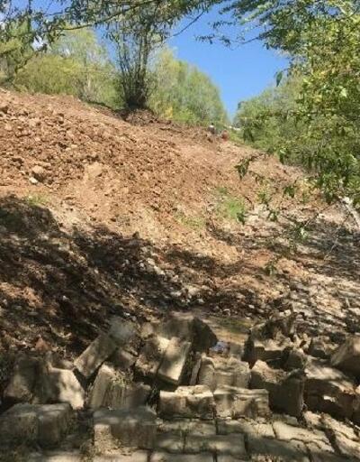 Bingöl'deki heyelanda risk altındaki 5 ev tahliye edildi