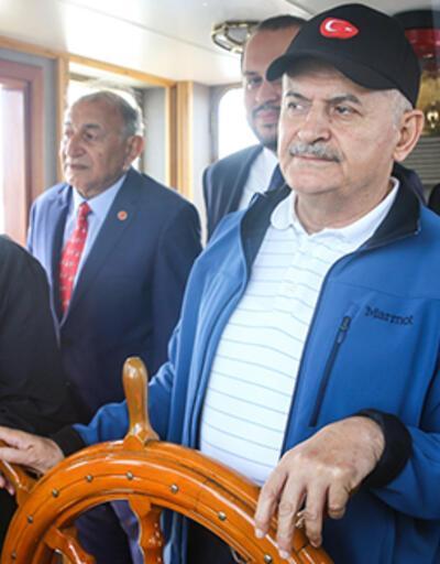 Binali Yıldırım, Deniz Kuvvetleri Atatürk Rallisi Uğurlama Törenine katıldı
