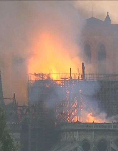 Notre Dame'ın yangından sonraki son durumu
