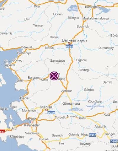 Soma'da 3.7 büyüklüğünde deprem