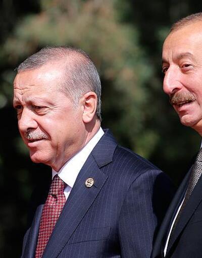 Cumhurbaşkanı Erdoğan, Aliyev'e kutlama mesajı gönderdi
