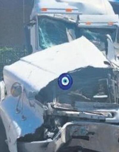 Ozan Baran, Süreyya Yalçın'ın aldığı TIR'la kaza yaptı