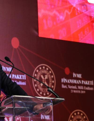 Bakan Albayrak, İVME Finansman Paketi'ni açıkladı