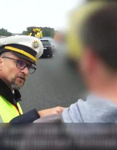Alman polisten ders gibi ceza