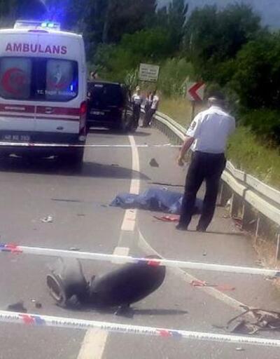 Muğla'da otomobil ile motosiklet çarpıştı: 1 ölü