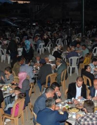 Gelendost'ta iftar programı