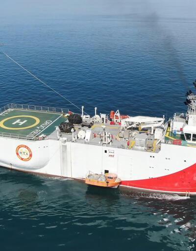 İlk yerli ve milli sismik araştırma gemisi Oruç Reis Marmara'yı karış karış inceliyor