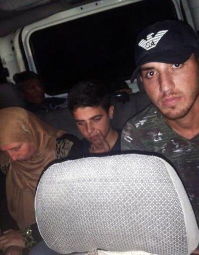 Yayladağı'nda 9 kaçak yakalandı