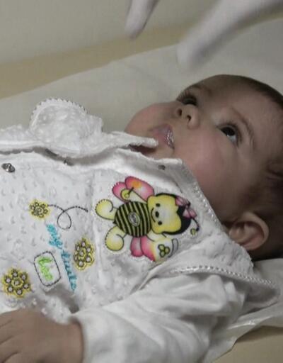 Elif bebek sağlığına kavuştu