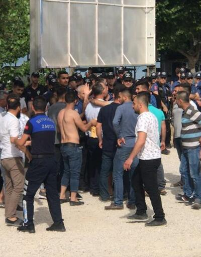Adana'da yıkım gerginliği