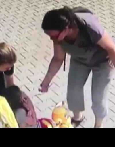 Dondurmasını yemeyen çocuğa şiddet