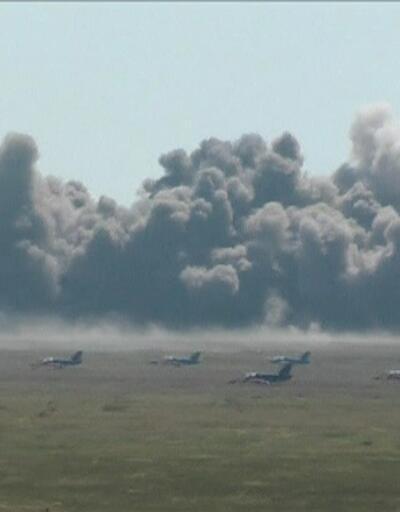 Rusya'dan Kırım'da gövde gösterisi