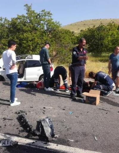 Malatya'da kaza: 2 ölü, 3 yaralı