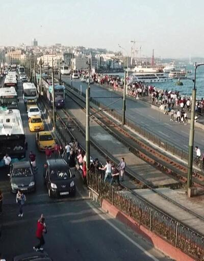 Eminönü'nde bayram izdihamı
