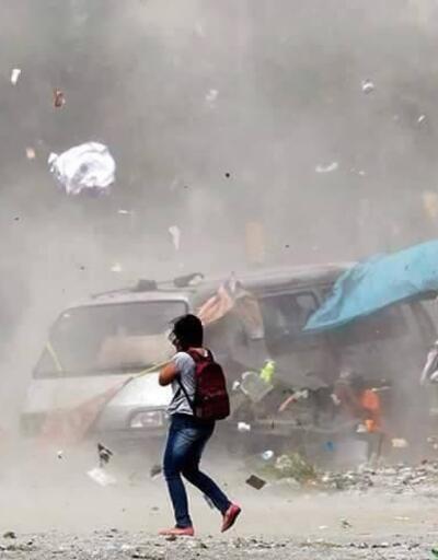 Nepal'de fırtına: 2 ölü, 100 yaralı