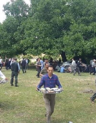 Çiftçi hayrı yüzlerce kişiyi buluşturdu