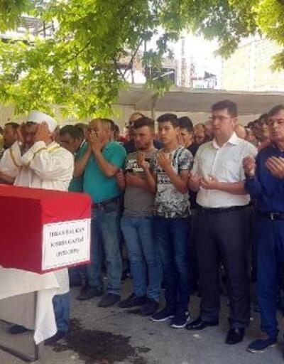 Kıbrıs gazisi, son yolculuğuna uğurlandı