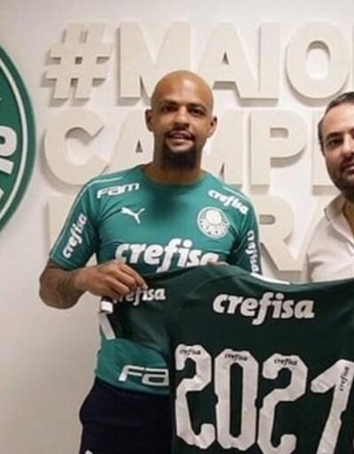 Felipe Melo'dan 2 yıllık imza