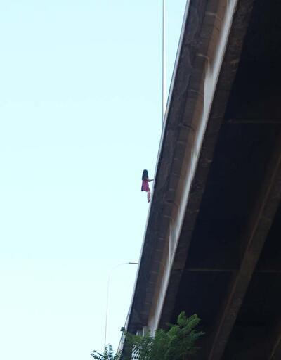 Son dakika! 15 Temmuz Şehitler Köprüsü'nde intihar girişimi