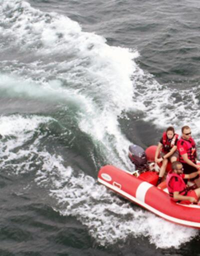 Denizde kaybolan Serdar Sincan'ı arama çalışmaları yeniden başladı
