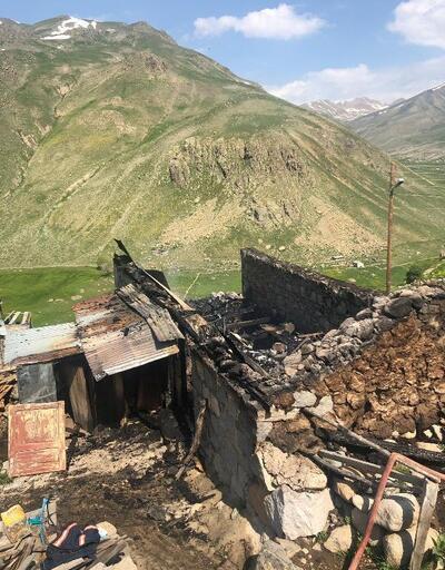 Yayla evinde yangın: 1 ölü