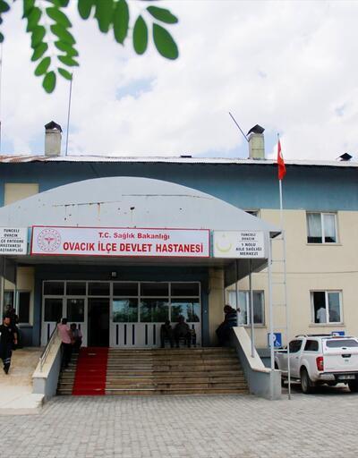 Tunceli'de çadıra yıldırım düştü: 1 ölü