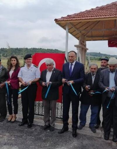 Nallıhan'da 'Şehitler Anıtı Çeşmesi' açıldı