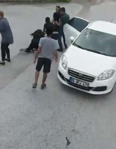 Önünü kestikleri otobüsteki kadını kaçırdılar, polis kovalamacasında yakalandılar