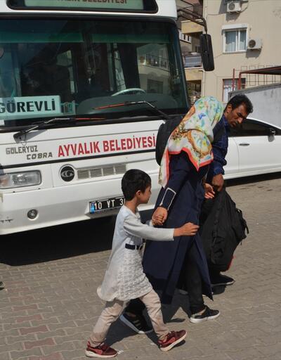 Balıkesir'de 58 düzensiz göçmen yakalandı