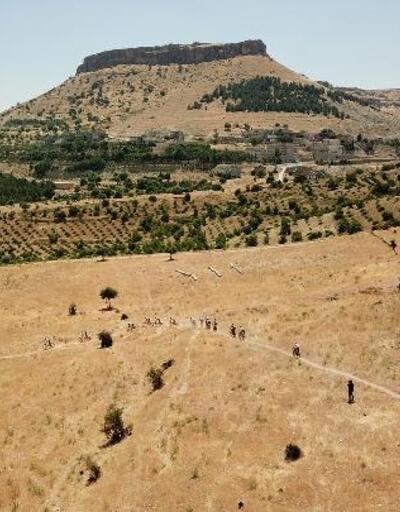 Mardin'de, 'Dağ Bisikleti Yarışı'nın ilk etabı tamamlandı