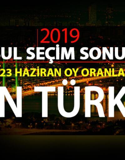 İstanbul seçim sonuçları 2019… İlçe ilçe İstanbul oy oranları CNN TÜRK'te!