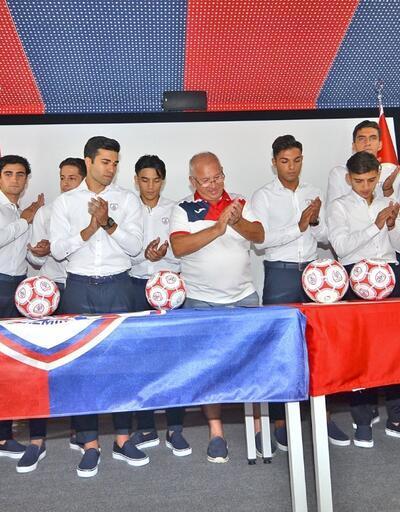 Altınordu'nun genç futbolcuları 'yemin' etti