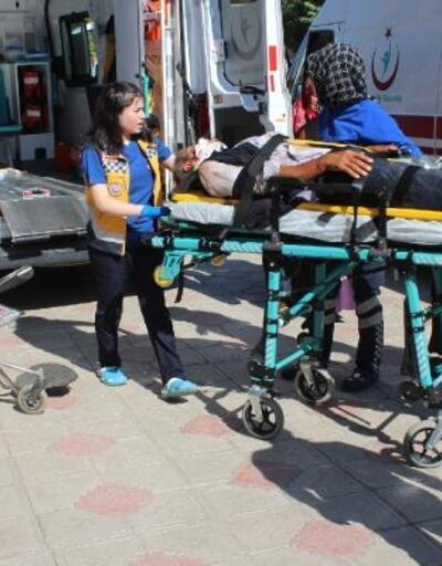Sincik'te trafik kazası: 4 yaralı