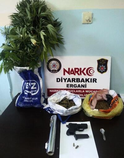 Diyarbakır'da uyuşturucu operasyonu: 6 gözaltı