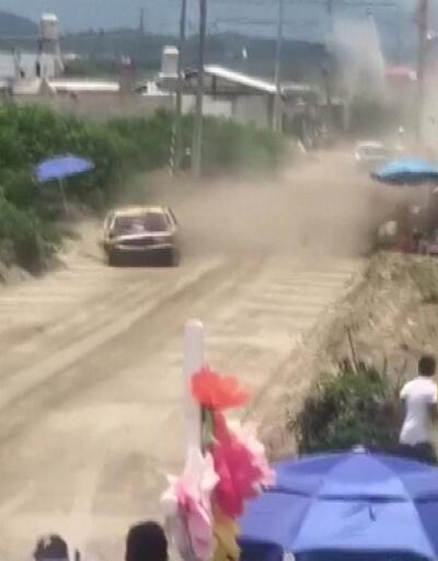 Meksika'da yarışta feci kaza: 1 ölü, 4 yaralı