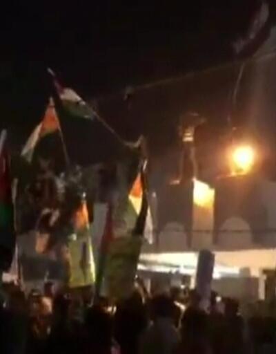 Irak'ta Bahreyn protestosu