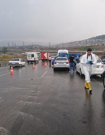 İstanbul'da yol ortasında pompalı tüfekli dehşet